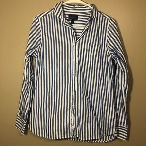 J. Crew Striped Button Down Shirt
